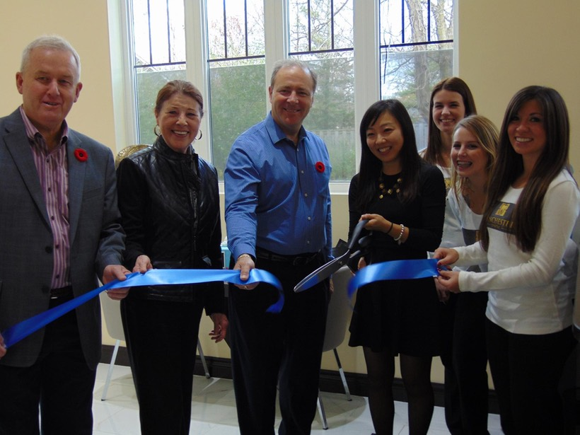 Winchester Dental Office Ribbon Cutting With Whitby Mayor